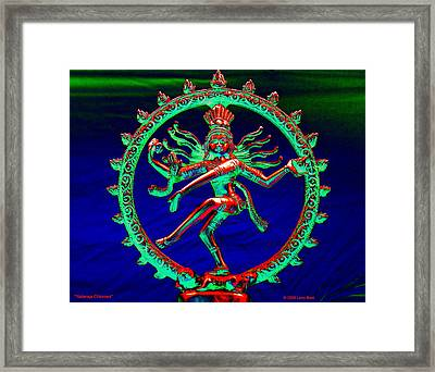 Nataraja Chlorosa Framed Print