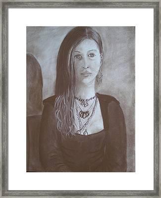 Natasha Framed Print by Bonita Bruch