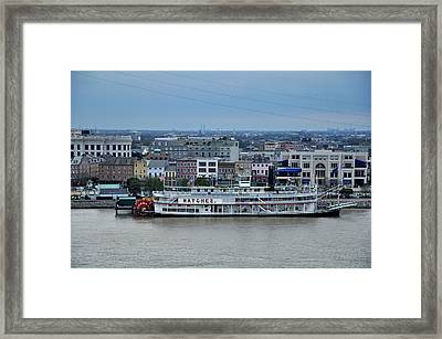 Natchez  Framed Print