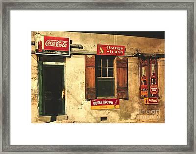 Natchez Mississippi 1940 Framed Print by Padre Art