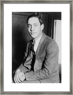 Nathan Leopold, Jr., 1904-1971 One Framed Print by Everett