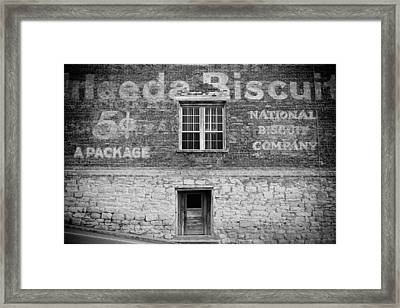 National Biscuit Company Framed Print by Paul Bartoszek