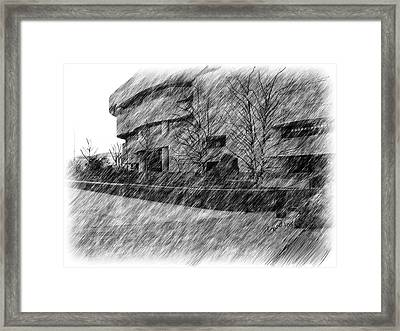 National Museum Of The American Indian Framed Print by Yiries Saad
