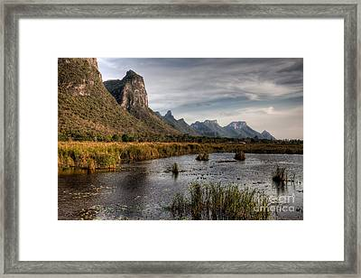 National Park Thailand Framed Print