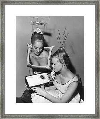National Radio Show Framed Print by Fox Photos