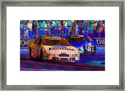 Framed Print featuring the photograph Nationwide by Michael Nowotny