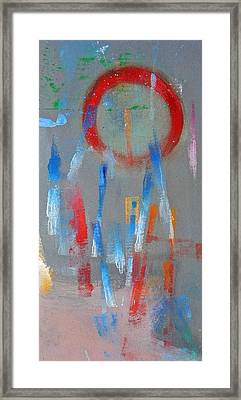 Native American Abstract Framed Print