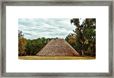 Native American Council House Framed Print by Frank Feliciano