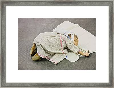 Framed Print featuring the photograph Native Angel by Nick Mares