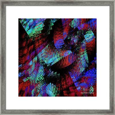 Native Blanket Abstract Framed Print