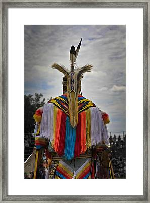 Framed Print featuring the photograph Native Canadian by Nick Mares