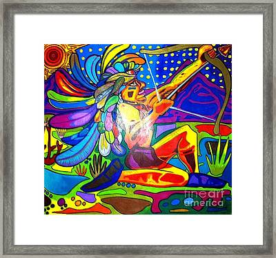 Native Framed Print by Jeffrey Kyker