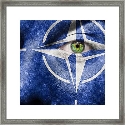 Nato Framed Print by Semmick Photo