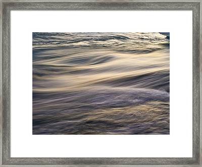 Natural Fresh Drinking Water Framed Print by Arctic-Images