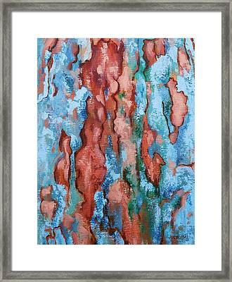 Natural Impression Framed Print by Peggy Wrobleski