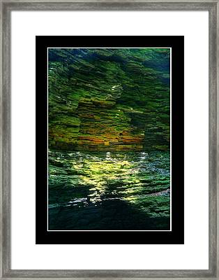 Natural Light Framed Print by Matthew Green