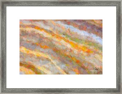 Nature Abstract I Framed Print by Clarence Holmes