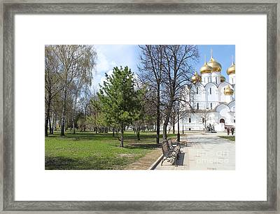 Nature And Architecture Framed Print