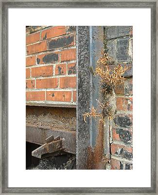 Framed Print featuring the photograph Nature And Industry by Christophe Ennis