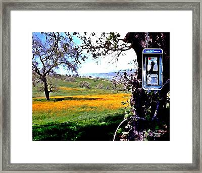 Nature Calls Framed Print