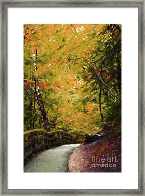 Framed Print featuring the photograph Nature In Oil  by Deniece Platt