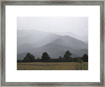 Nature Is Simple-why Can't We Be Framed Print