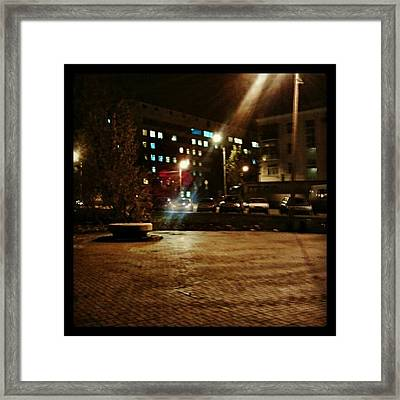 #nature #nice #night #all_shots Framed Print