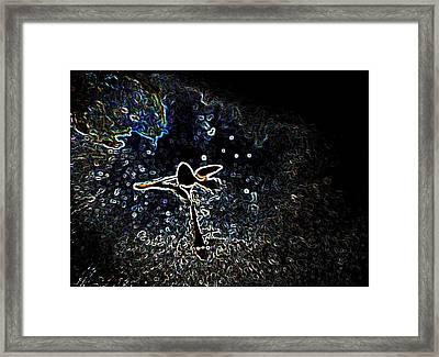 Nature Or Nurture Framed Print