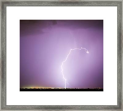 Nature Showing Face Framed Print by James BO  Insogna