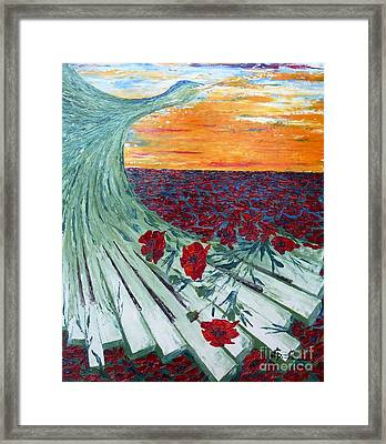 Nature Symphony Framed Print