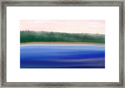 Nature Untouched Framed Print by Gina Lee Manley