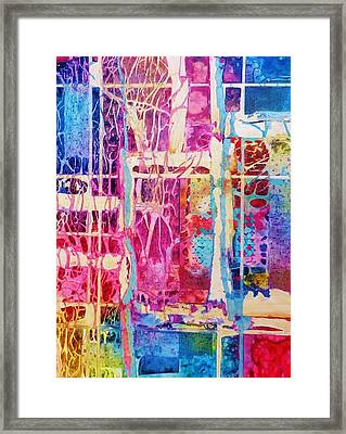 Nature's Abstract Framed Print by David Raderstorf