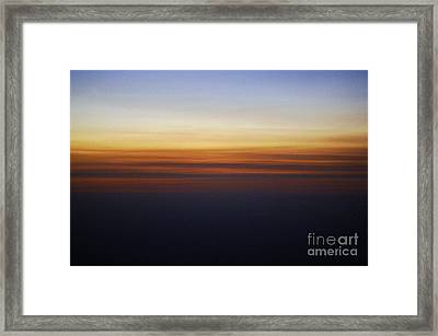 Nature's Brush Strokes Framed Print by Gib Martinez