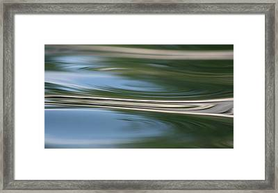 Nature's Reflection Framed Print by Cathie Douglas