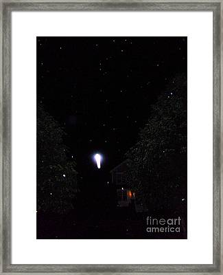 Nature's Rocket Launch Framed Print by Doug Kean
