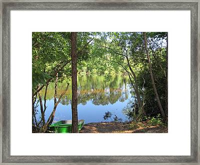 Nature's Sedative Framed Print by Paula Andrea Pyle