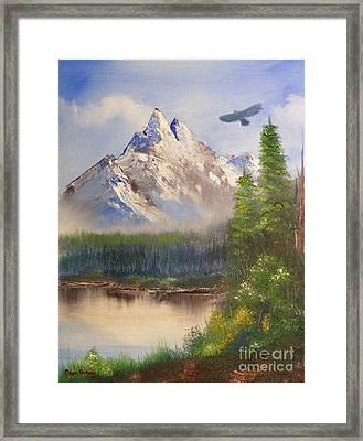 Nature's Wonders Framed Print by Crispin  Delgado