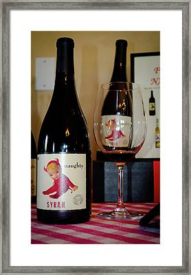 Naughty Framed Print by Jeff Wilson