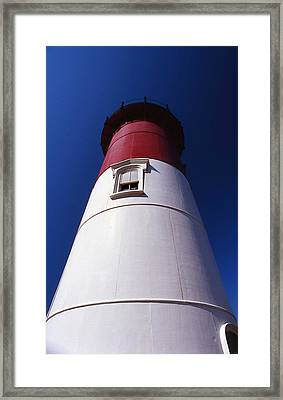 Nauset Beach Lighthouse Framed Print by Skip Willits