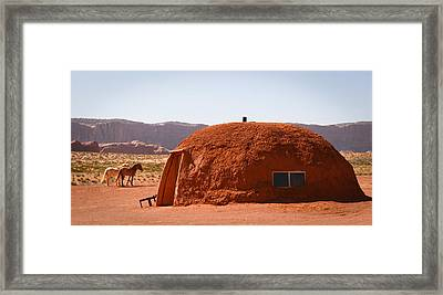 Navajo Home Framed Print