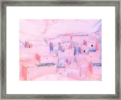 Navajo National Monument Framed Print