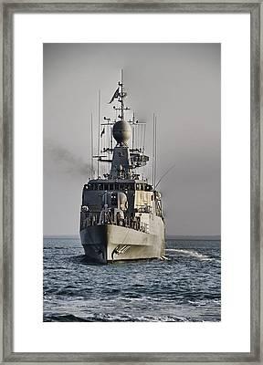 Naval Joint Operations V6 Framed Print