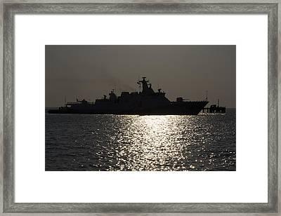 Naval Joint Operations V7 Framed Print