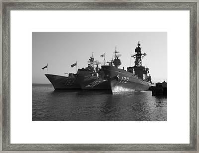 Naval Joint Ops V1 Framed Print
