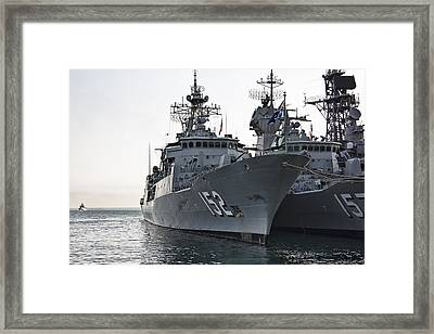 Naval Joint Ops V2 Framed Print