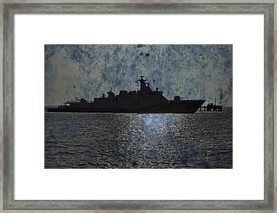 Naval Joint Ops V3 Framed Print