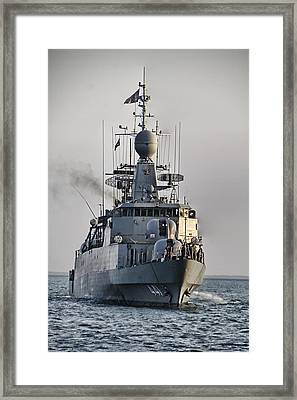 Naval Joint Ops V5 Framed Print