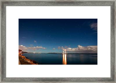 Navigate By The Stars Framed Print