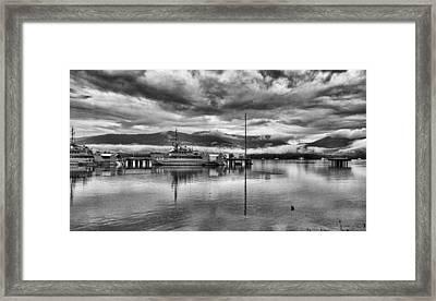 Navy Lookout Framed Print by Douglas Barnard