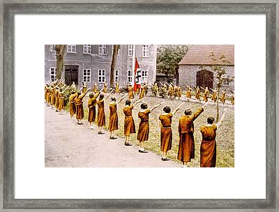 Nazi Germany, Junge Deutsche Madel Framed Print by Everett